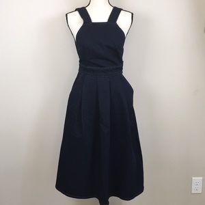 ASOS Dark Denim A Line Dress
